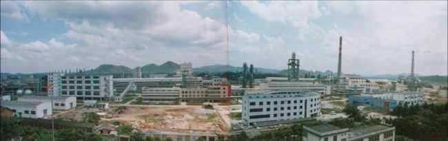 广西鹿寨化肥厂大型磷复肥装置
