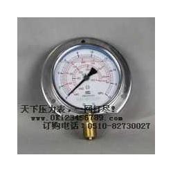 径向带边耐震压力表系列